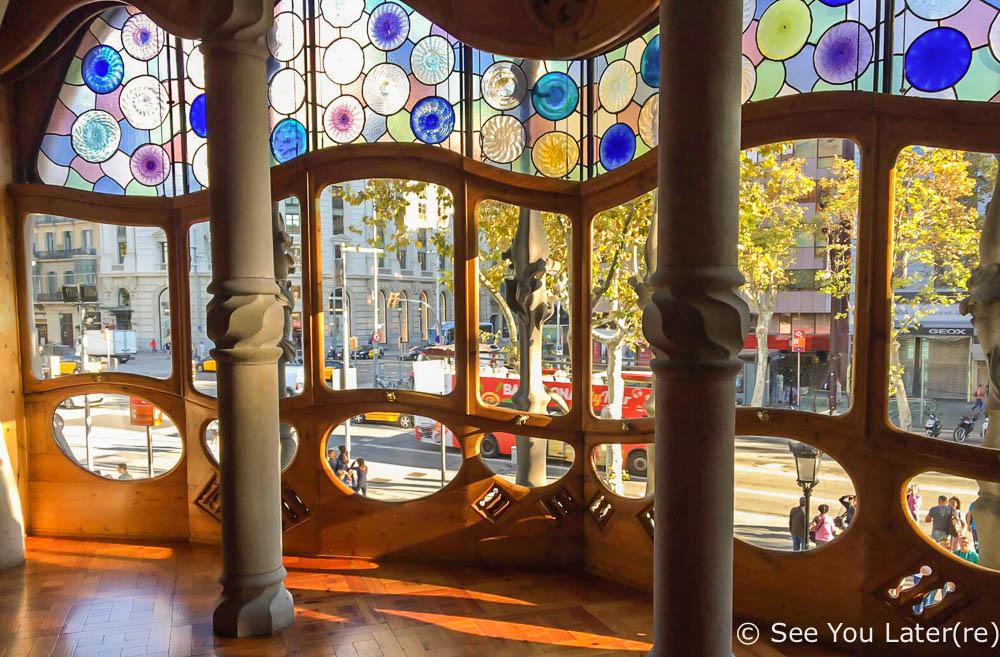 intérieur casa batllo barcelone
