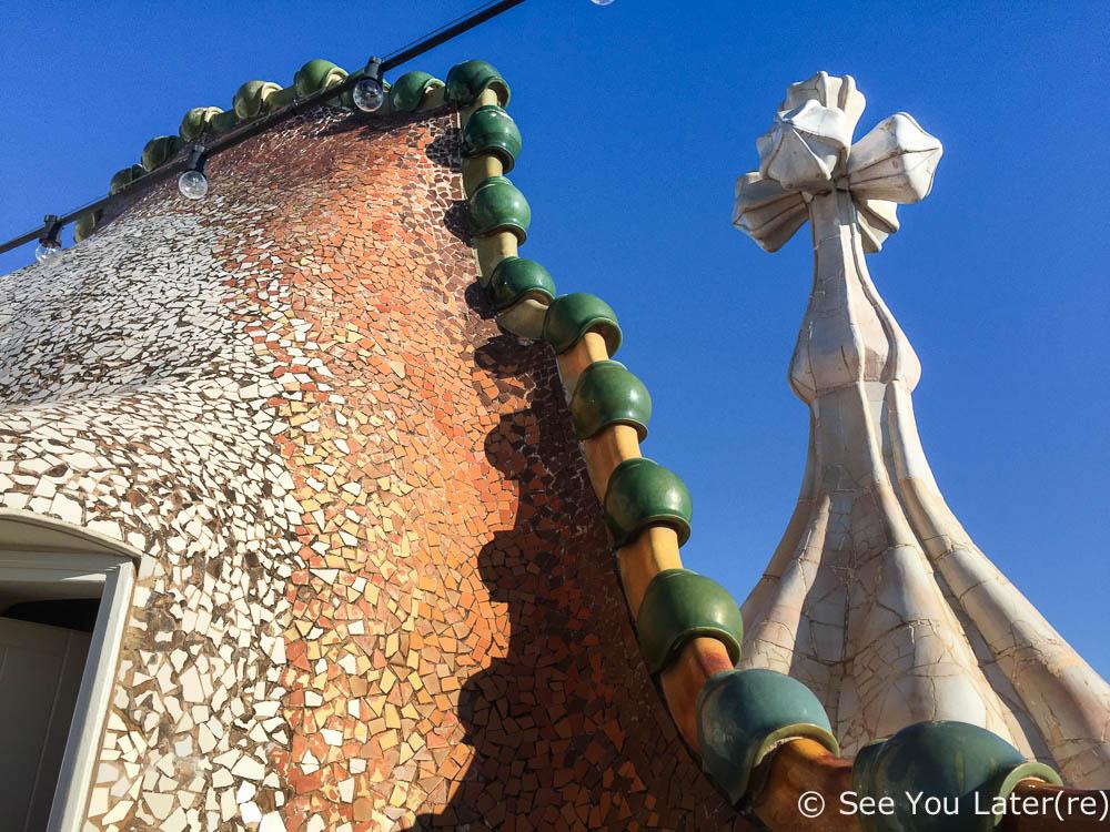 toit casa batlló barcelone