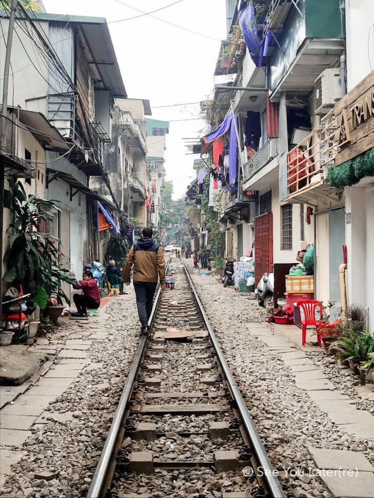 Hanoi rue du train