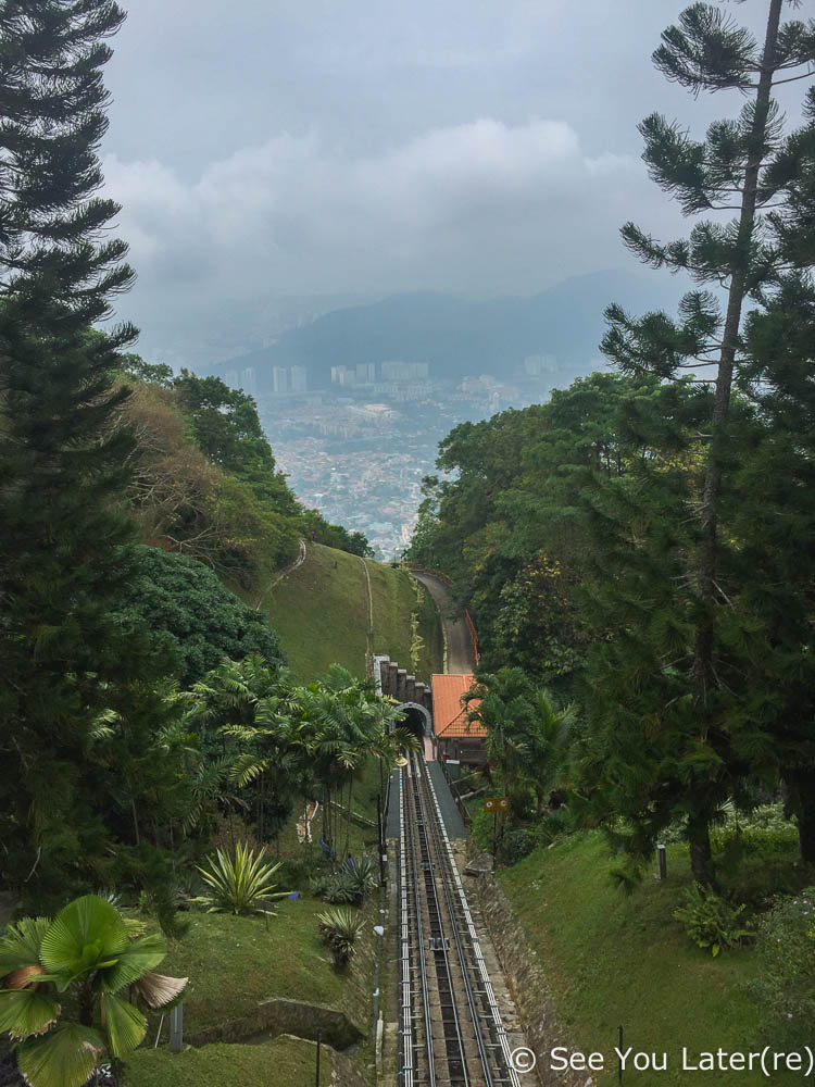 funiculaire penang hill