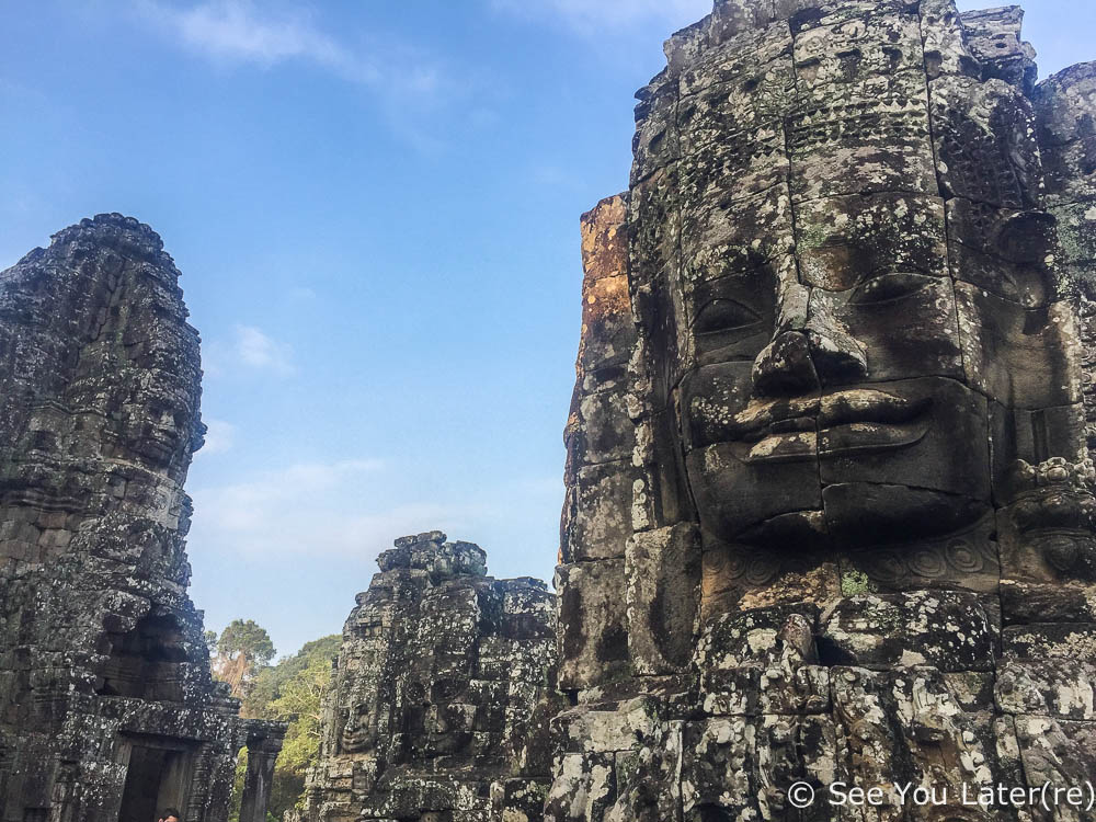 temples aux visages angkor cambodge