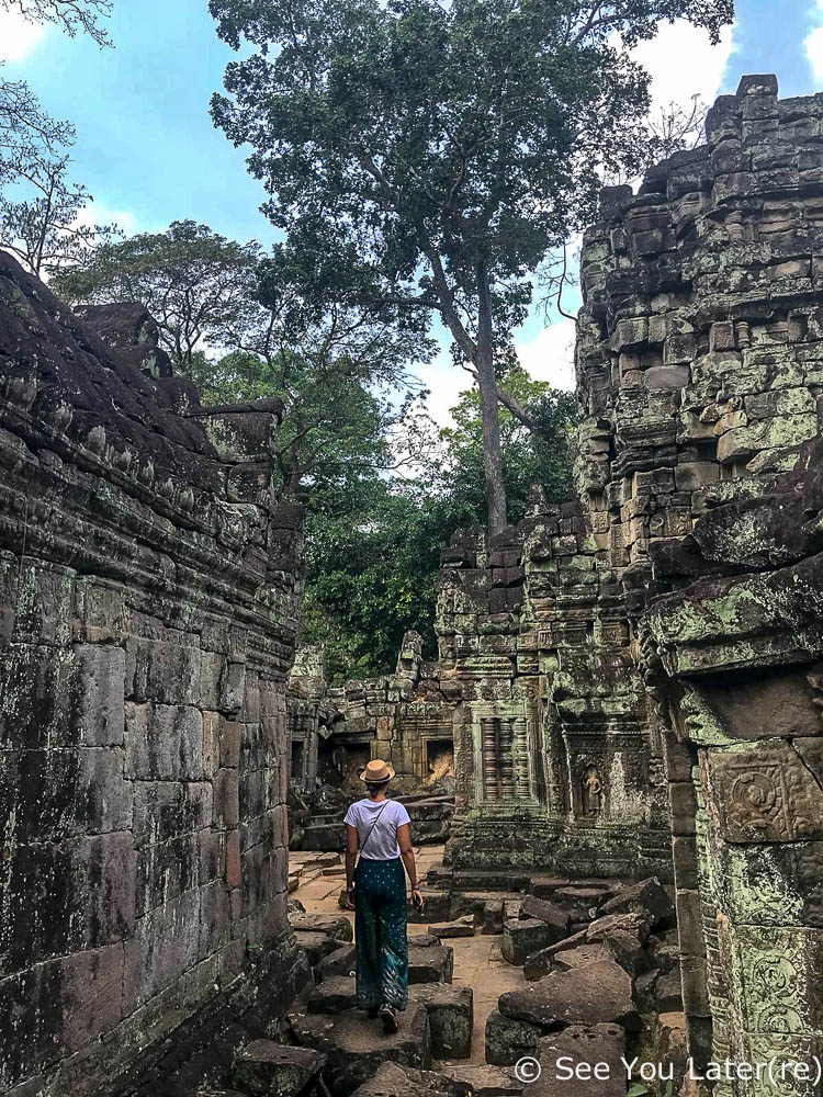 visiter temples d'angkor cambodge